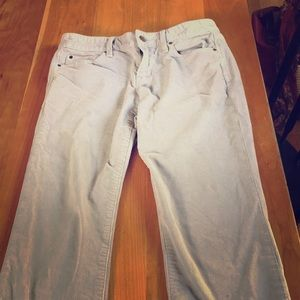 Light blue cords size 4